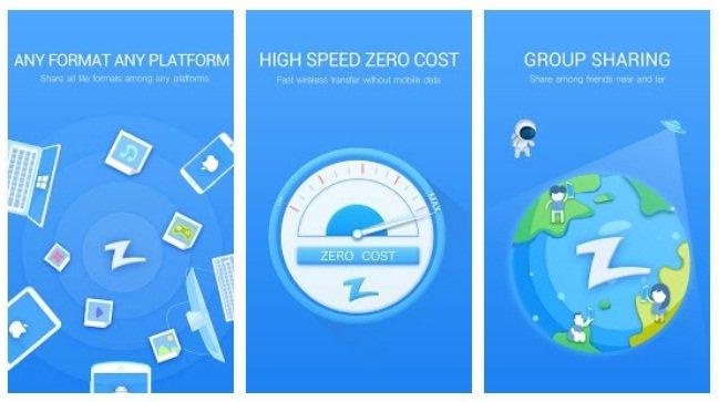 Zapya File Transfer App