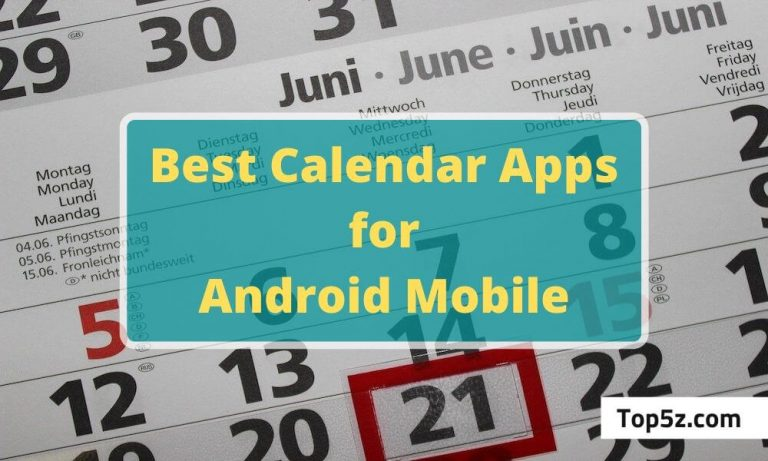 Best Free Calendar Apps for Android