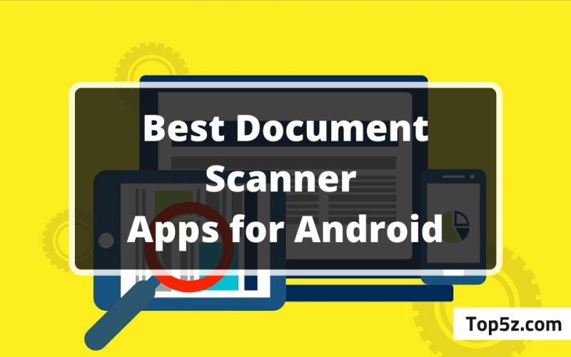 Best Document Scanner Apps