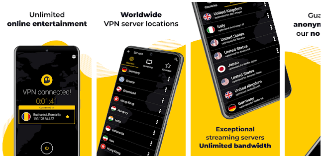 CyberGhost VPN - Secure WiFi Protection