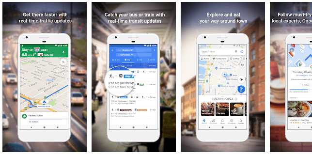 Map, Navigate & Explore App
