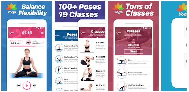 Yoga Poses & Classes App