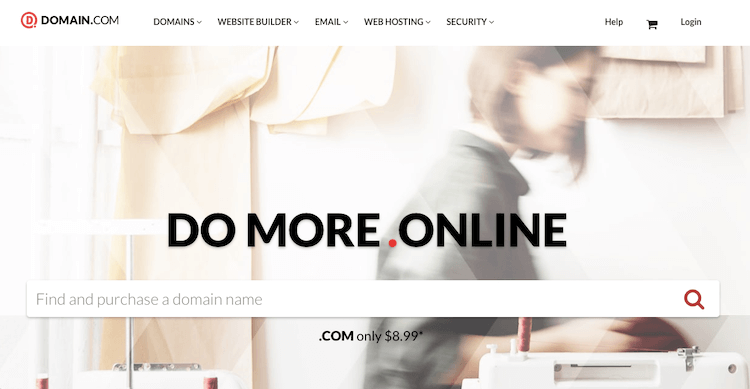 Domain.com for Domain Registration