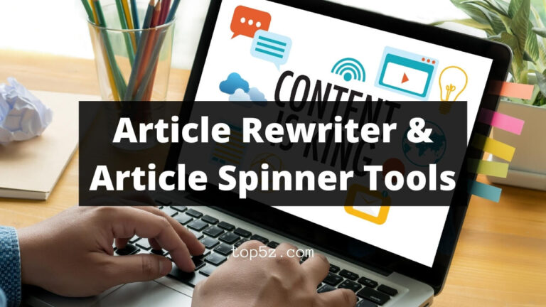 Article Rewriter & Article Spinner Tools