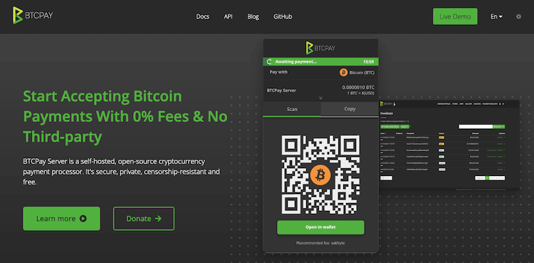 Btcpayserver Bitcoin Gateway