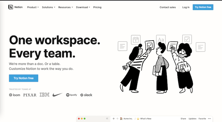 Notion Workplace