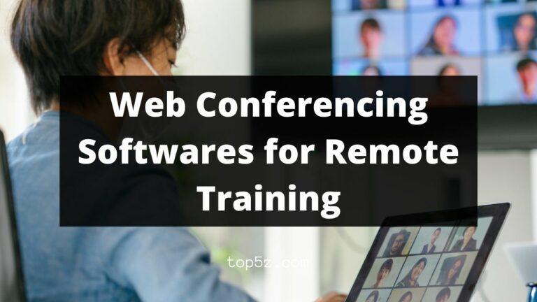 Web Conferencing Softwares