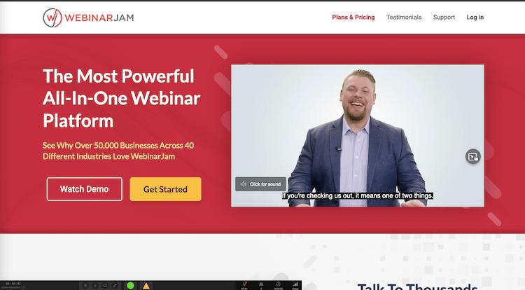 Webnarjam Platform